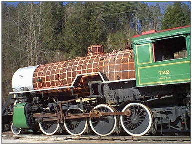 GSMR 722 Steam Locomotive